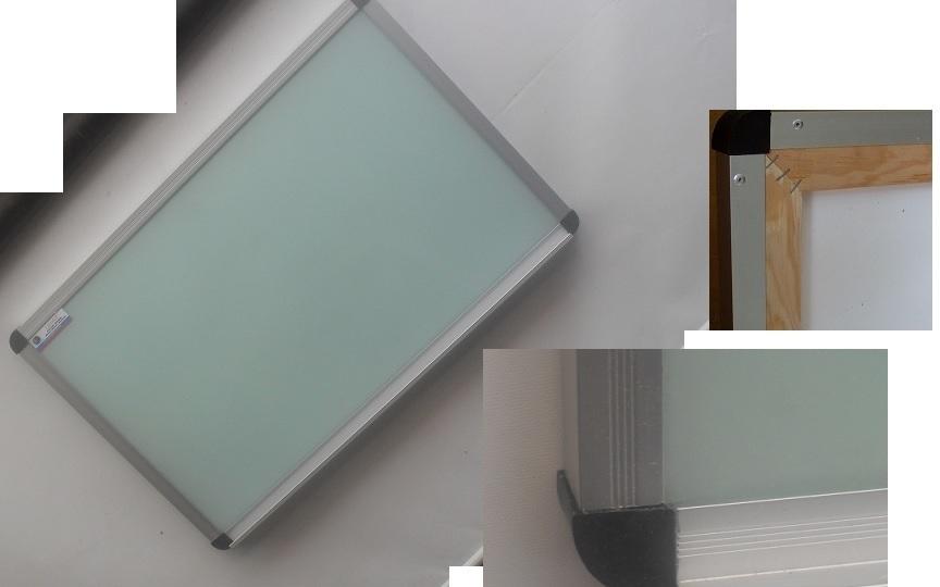 Pizarron cristal marco plus informacion - Marcos de cristal ...