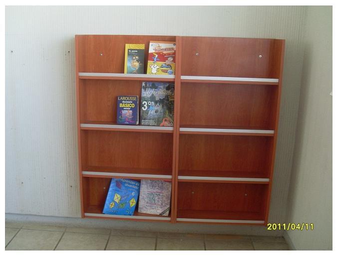 Biblioteca infantil informacion for Muebles para preescolar